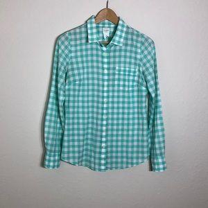 J.Crew > The perfect Shirt Plaid Botton Down